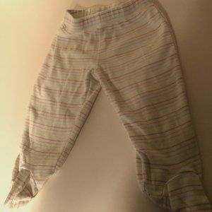 ** 8 for $25 ** Carter's Striped Footies Size 6m